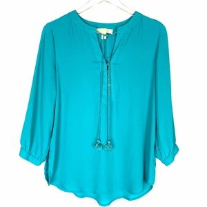 Michael Kors Acqua Green Tunic